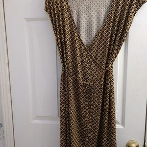 Michael Michael Kors wrap around sleeveless dress